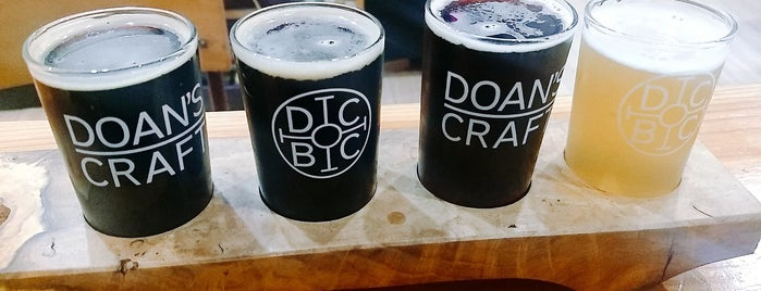 Doan's Craft Brewing Company is one of YVR Beer.