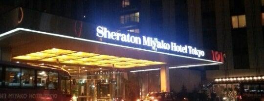 Sheraton Miyako Tokyo Hotel is one of Favorites.