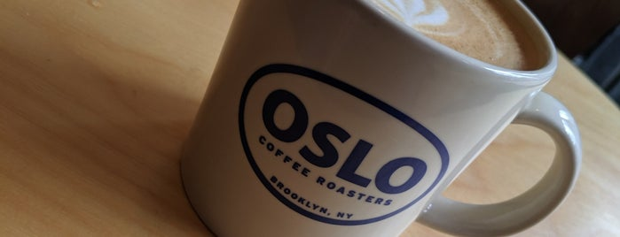 Oslo Coffee Roasters is one of Dagli NY.