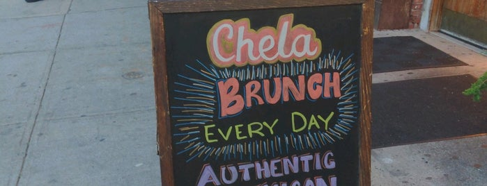 Chela Park Slope is one of Delivery.