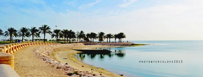 Khobar Corniche is one of Locais curtidos por Ahmad.