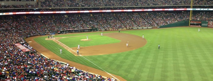 Globe Life Park in Arlington is one of MLB.
