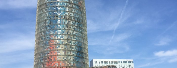 Torre Agbar is one of 建築マップ ヨーロッパ.
