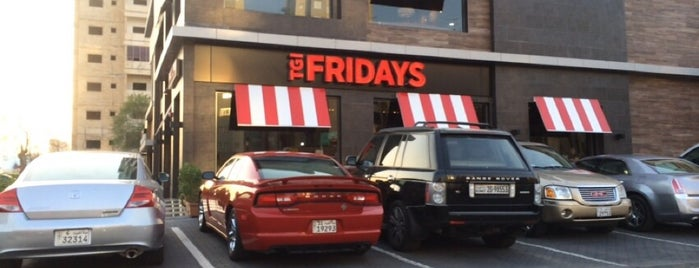 T.G.I. Friday's is one of 9aq3obeyaさんのお気に入りスポット.