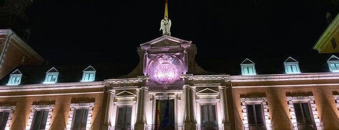 Palacio de Santa Cruz is one of Madrid.