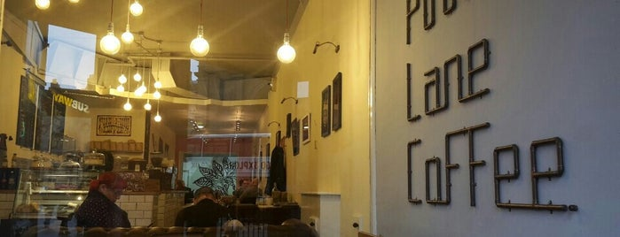 Pink Lane Coffee is one of Newcastle UK.