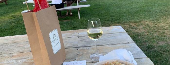 Sunstone Vineyards & Winery is one of Wineries & Breweries.