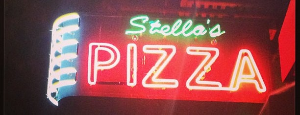 Stella's Pizza is one of New Spots NYC.