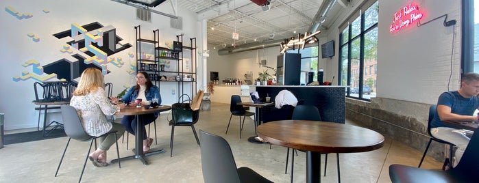 Passion House Coffee Roasters is one of Chicago Places To Work.