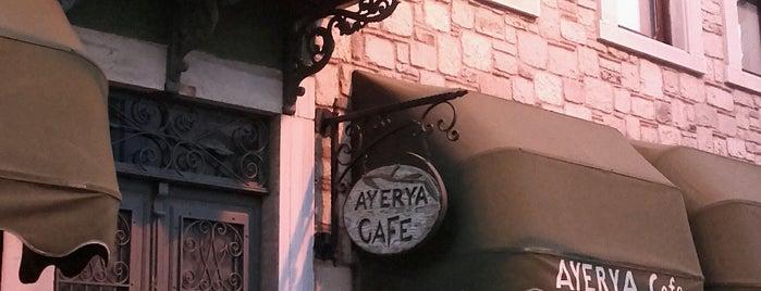 Ayerya Organik Urunler&Cafe is one of Lieux sauvegardés par Fulya.