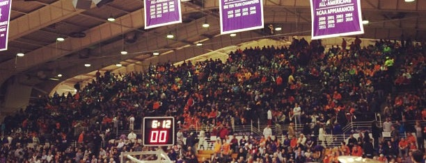 Welsh-Ryan Arena is one of Basketball Arenas.