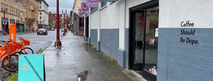 Deadstock Coffee is one of Portland.