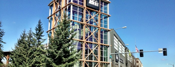 REI is one of Favorite Spots in Seattle.