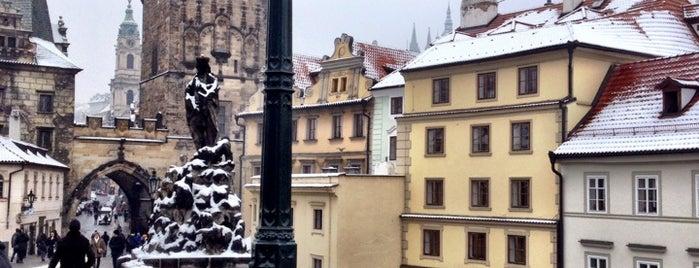Malostranské mostecké věže is one of Nejlepší výhledy v Praze.