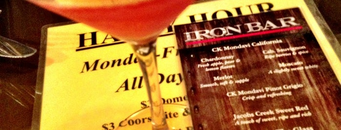 Iron Bar is one of 973 Bars - Bottoms Up.