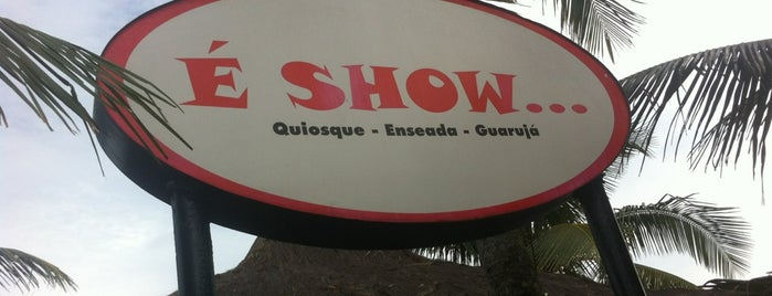 Quiosque É Show is one of Lieux qui ont plu à Tadeu.