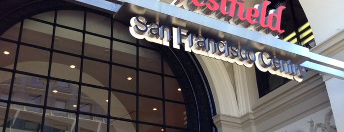 Westfield San Francisco Centre is one of San Francisco Bay Area to-do list.