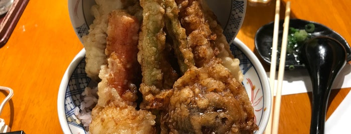天ぷら 琥珀 Tempura Kohaku is one of XS - Been.