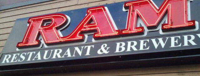 RAM Restaurant & Brewery is one of Oregon Brewpubs.