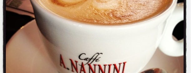 Bar Pasticceria Nannini is one of Kaffee.