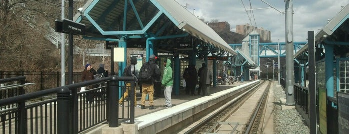 NJT - Port Imperial Light Rail Station is one of WNY.