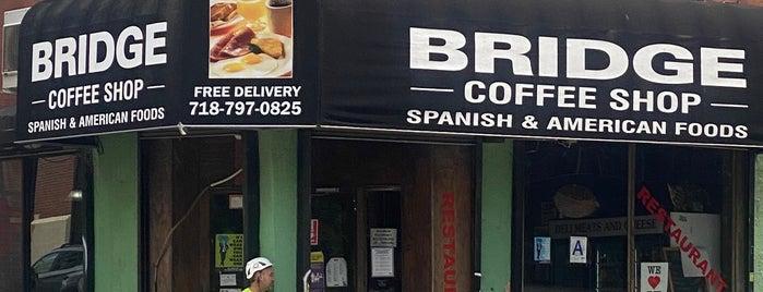 Bridge Coffee Shop is one of NYC Coffee.