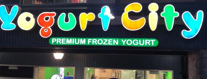 Yogurt City is one of New York.
