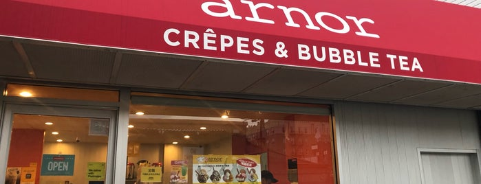 Arnor Crepes & Bubble Tea is one of Minnie 님이 저장한 장소.