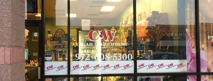 Cigar Warehouse is one of Cigar Friendly Bars and Shops.