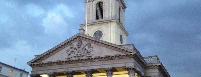 St Martin-in-the-Fields is one of London.
