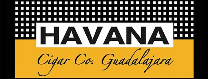 HAVANA cigar co. Guadalajara is one of Roberto J.C.さんの保存済みスポット.