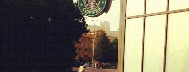 Starbucks is one of Locais curtidos por Jawaher.