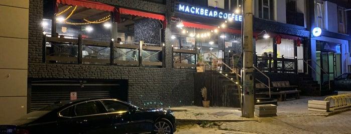 Mackbear Coffee Co. is one of Posti che sono piaciuti a Tuğrul.