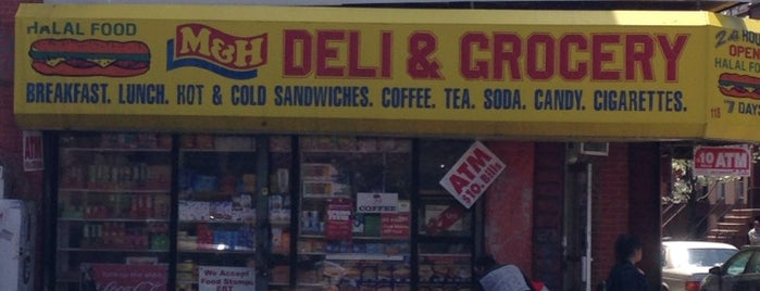 M&H Deli & Grocery is one of Signage.