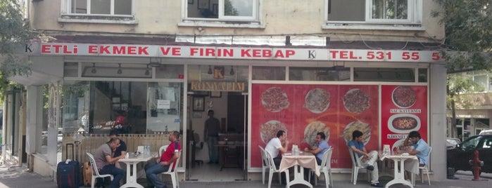 Konyalım Etli Ekmek & Fırın Kebap Salonu is one of مفضله - لم تتم زيارتها.