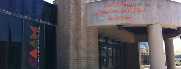 California African American Museum is one of 87 Free Things To Do in LA.
