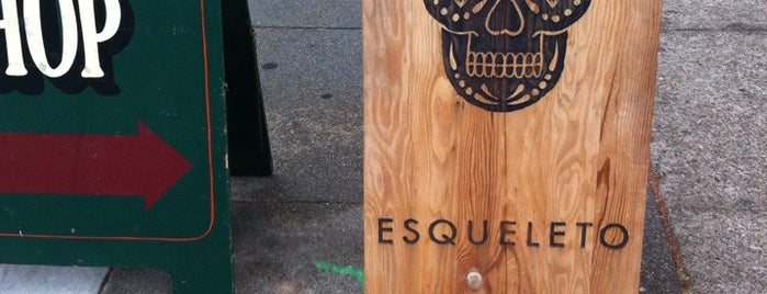 Esqueleto is one of San Francisco.