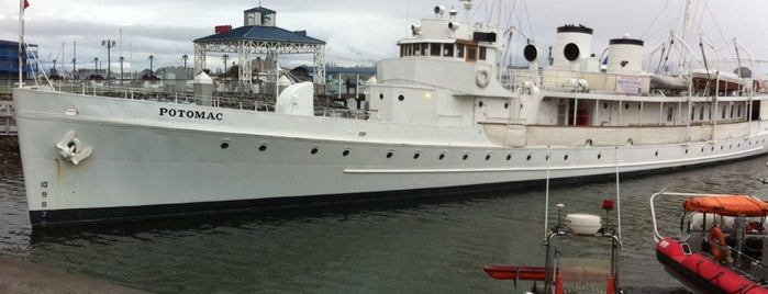 USS Potomac is one of East Bay Attractions.