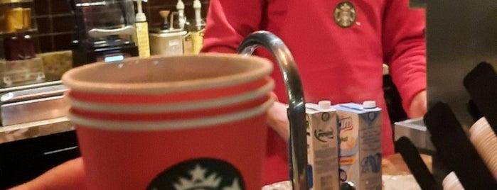 Starbucks is one of Orte, die Ünsal gefallen.