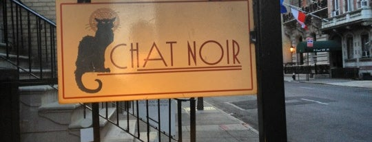 Bistro Chat Noir is one of NYC.