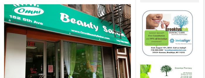 Omni Beauty Salon is one of Locais curtidos por Himali.