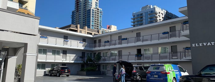 Baymont Inn & Suites San Diego Downtown is one of Daniel : понравившиеся места.
