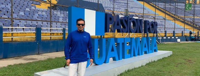 Estadio Nacional Doroteo Guamuch Flores is one of Daniel 님이 좋아한 장소.