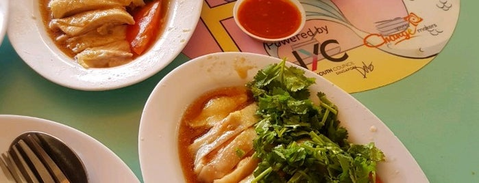 Tong Fong Fatt Hainanese Boneless Chicken Rice is one of Locais curtidos por Andrew.