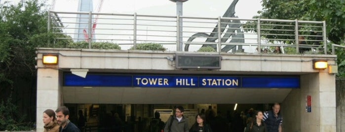 Tower Hill London Underground Station is one of Londen.
