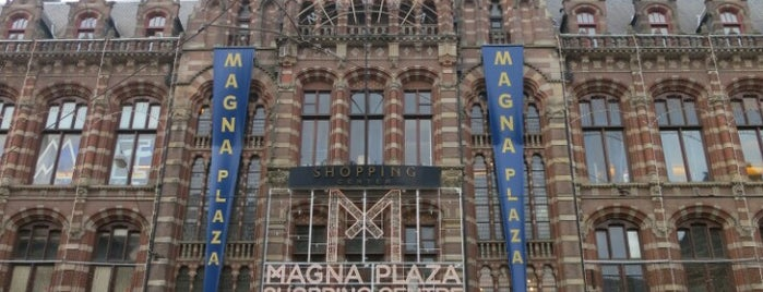 Magna Plaza is one of Amsterdam.