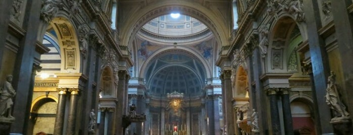 Brompton Oratory (Church of the Immaculate Heart of Mary) is one of Top 10 Spy Sites in London.