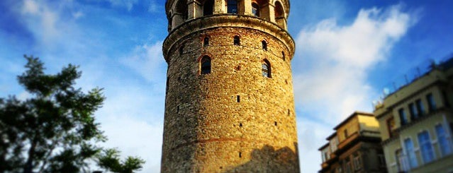 Torre di Galata is one of Istanbul.