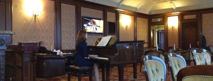 Піано бар Нобіліс готель / Piano bar at Nobilis hotel is one of Lviv.