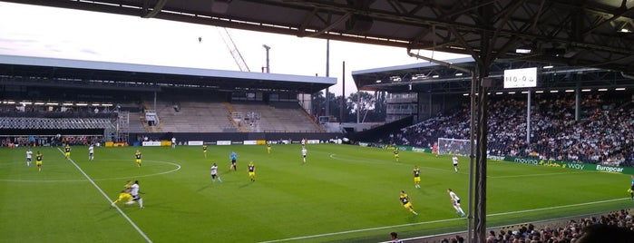 Johnny Haynes Stand (Craven Cottage) is one of Lugares favoritos de Carl.